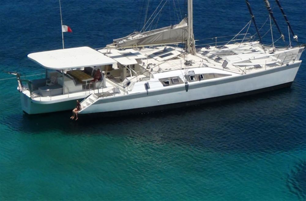 Crewed catamaran charter Tukey