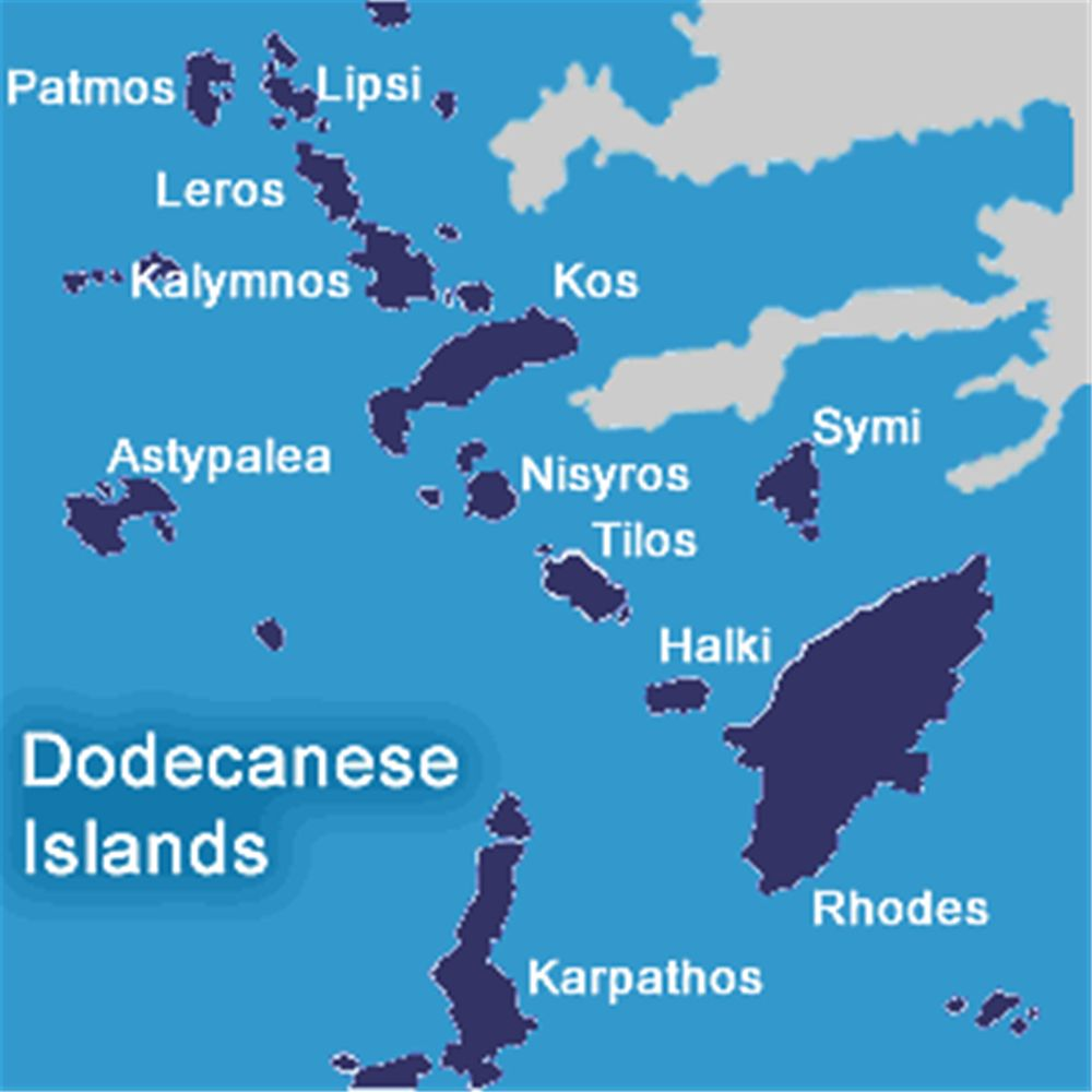 BAreboat & Skippered yacht charter - Dodecanese Islands