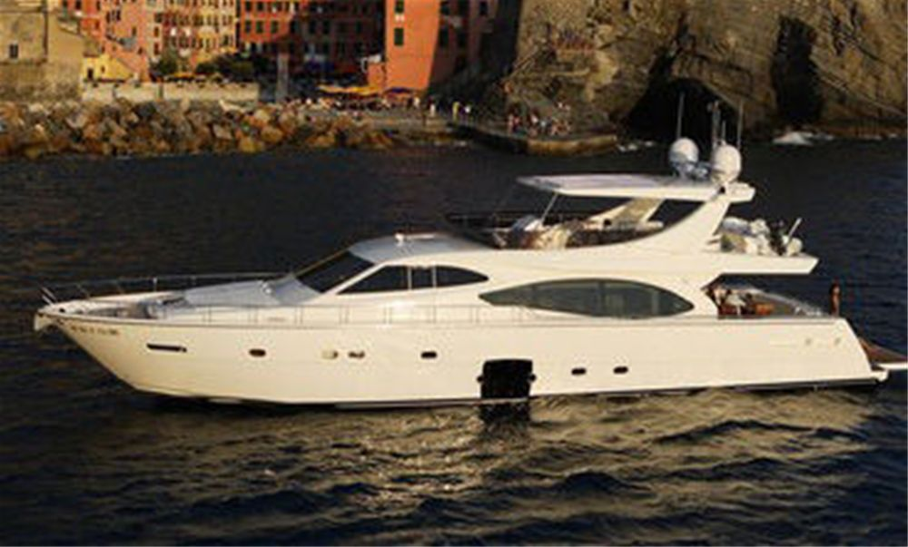 Ferretti 780 HT Luxury Motor Yacht for Crewed charter in Croatia