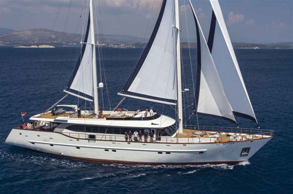 Luxury MotorSailer yacht for 12 available to charter in Croatia