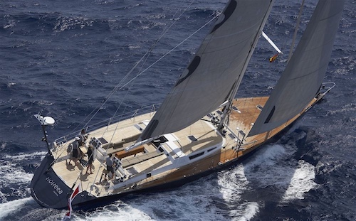 Sailing yacht with Crew for rent Mediterranean