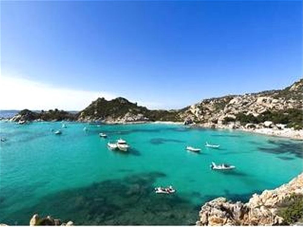 An Idyllic anchorage on Spargi - part of the Meddalena Islands, one of the delights that await you on a yacht charter in Sardinia