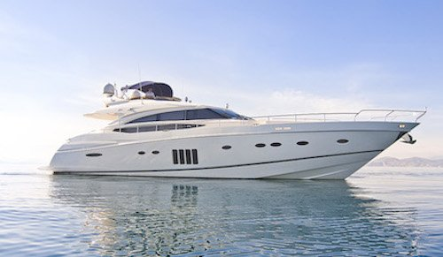 Princess 85 yacht, luxury crewed charter in Greece