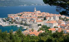 Korcull not to be missed on your crewed sailing holiday in croatia