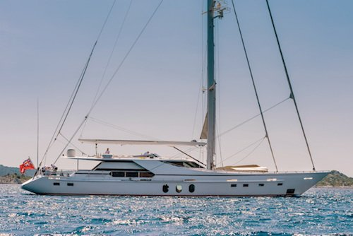 Large luxury sailing yacht with crew for charter Croatia & Adriatic