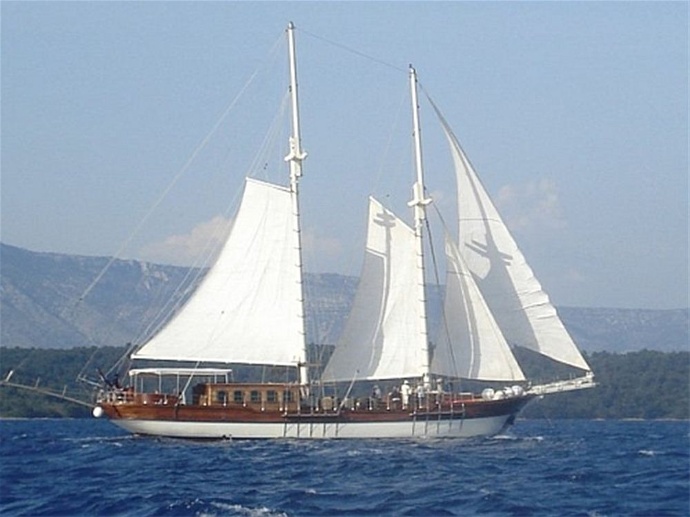 Luxury Crewed Motorsailer for rent in Croatia