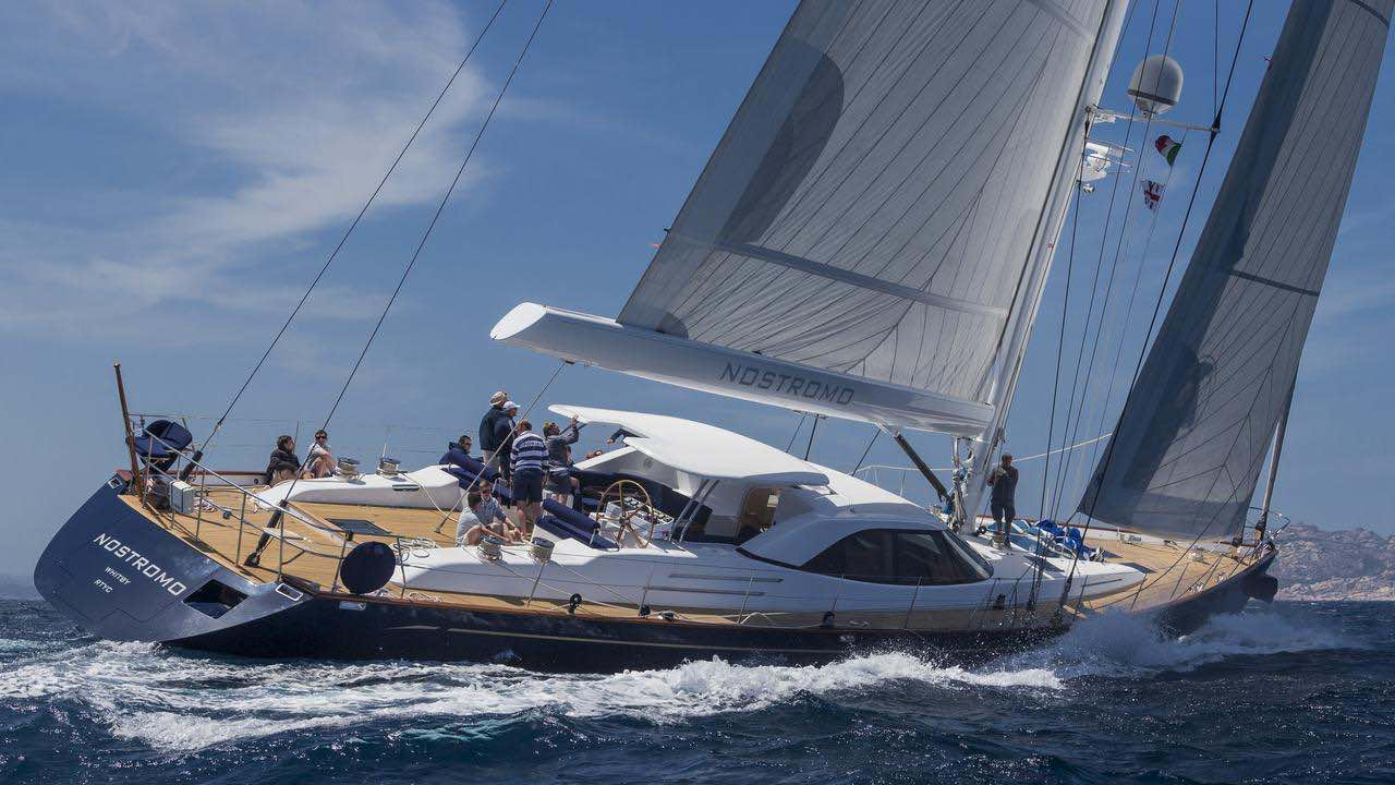 Luxury crewed sailboat for charter Med