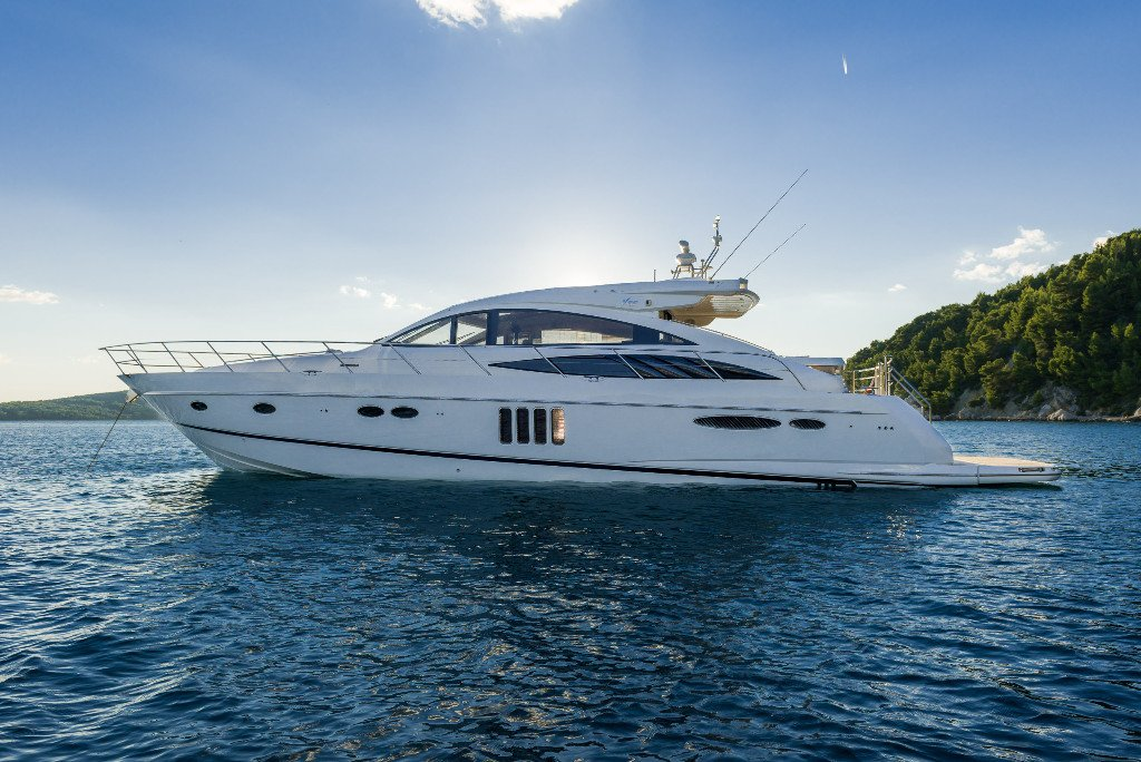 Luxury 65ft Power yacht with crew for charter Croatia